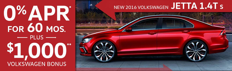 2016 VW Jetta 1.4T S