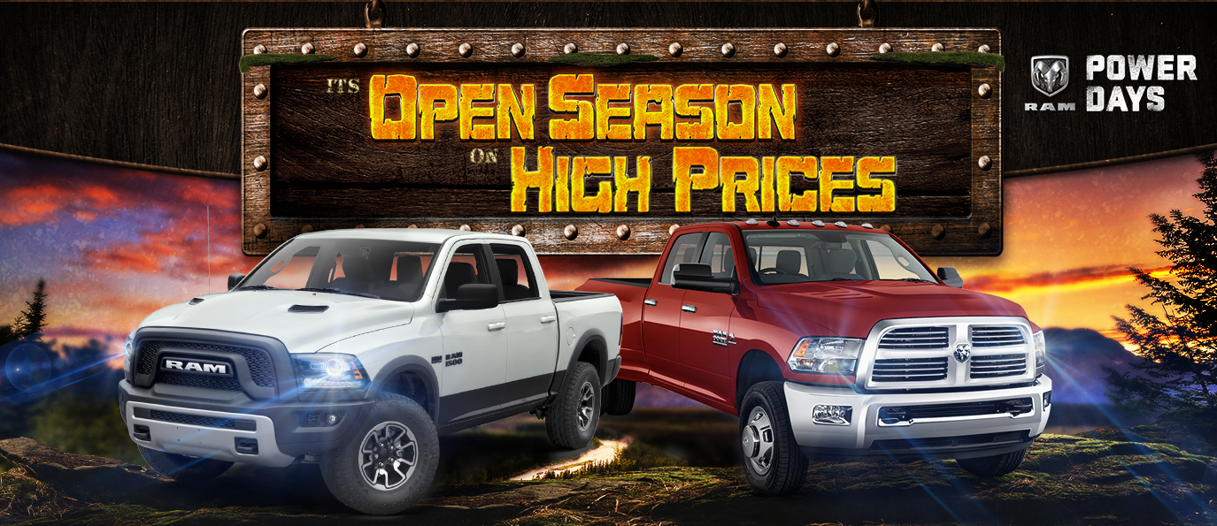 Bag Your Deal And Save On New Trucks-Fremont Chrysler Dodge Jeep RAM – Wyoming WY