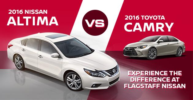 2016 Nissan Altima Vs Toyota Camry
