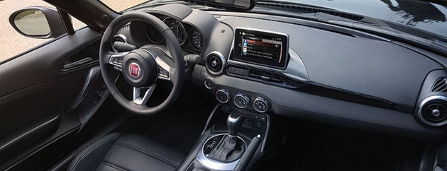 Touch Screen Navigation, 2017 FIAT 124 Spider, FIAT of Naperville, Naperville, IL