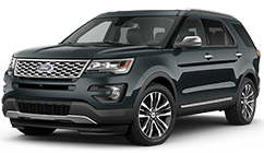 New Ford Explorer for sale at Waldorf Ford near Alexandria, VA