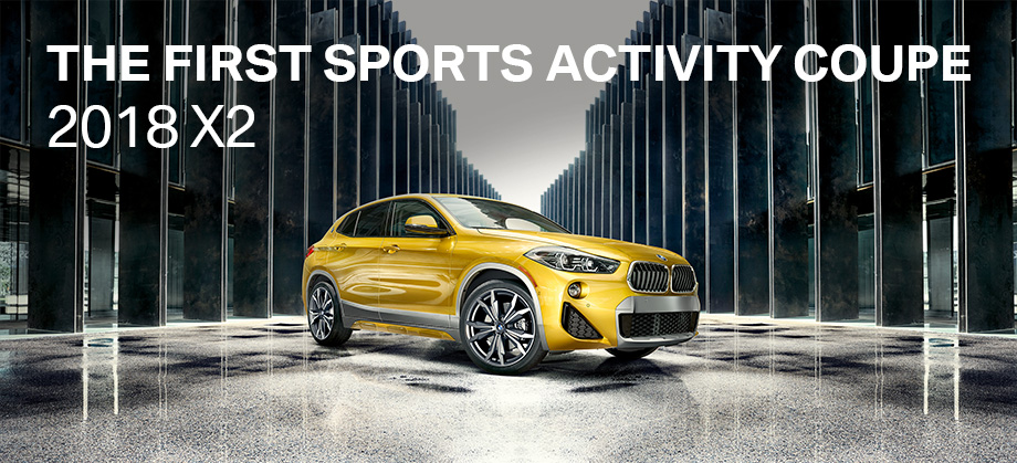 The 2018 BMW X2 is available at Hilton Head BMW in Bluffton, SC