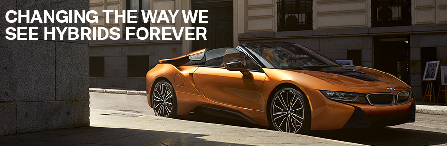 The BMW i8 is available at Hilton Head BMW in Bluffton, SC