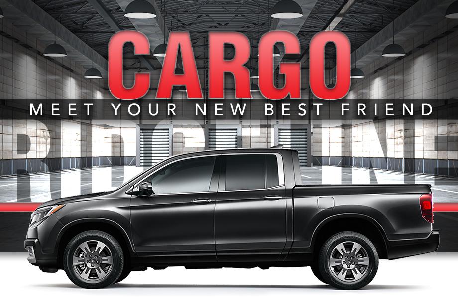Cargo Meet Your New Best Friend - 2017 Ridgeline