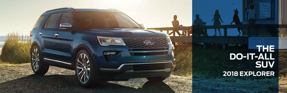 The 2018 Ford Explorer at Jim Tidwell Ford