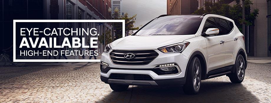 The 2018 Santa Fe Sport is available at Lithia Hyundai of Reno