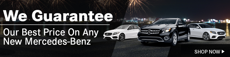 We Guarantee Our Best Price On Any New Mercedes-Benz