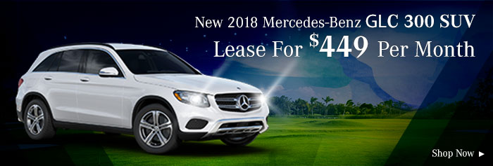2018 Mercedes Benz GLC300 SUV