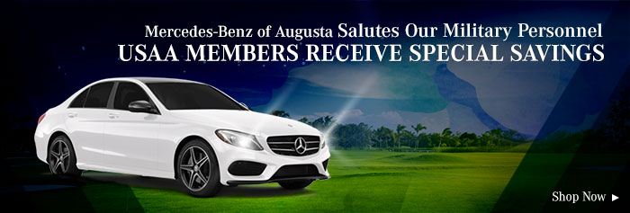 Mercedes-Benz of Augusta Salutes Our Military Personnel