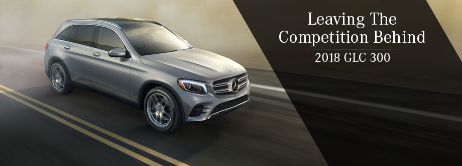 Exterior of the GLC 300 at Mercedes-Benz of Augusta near Aiken, SC