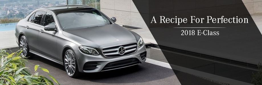 The 2018 E-Class is available at Mercedes-Benz in Augusta