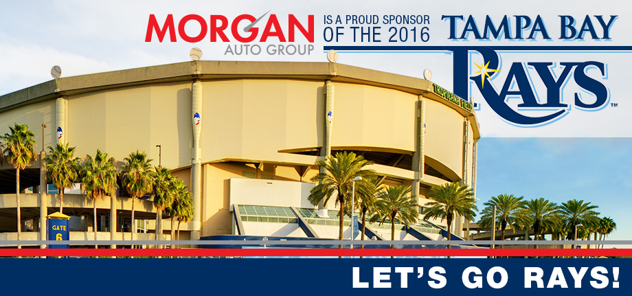Morgan Auto Group | Tampa Bay Rays Sponsorship