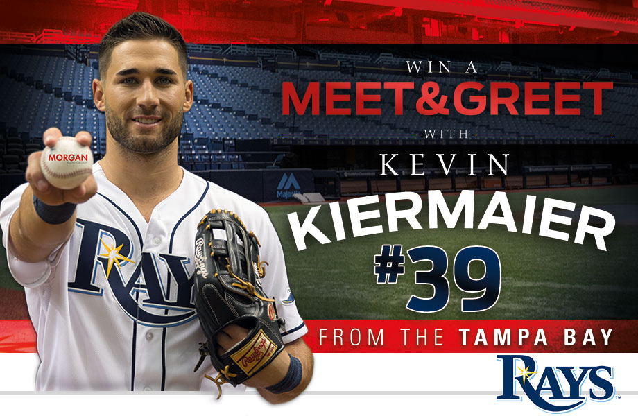 Win A Meet And Greet With Tampa Bay Rays' Kevin Keirmaier - Morgan Auto Group
