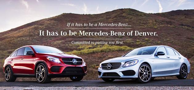Mercedes benz of denver new mercedes benz dealership in for Mercedes benz dealer denver
