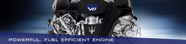 Powerful engine - 2017 Maserati Ghibli - Maserati of Naperville-Naperville, Illinois