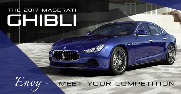 New 2017 Maserati Ghibli High Performance Exotic Luxury Maserati of Naperville, IL