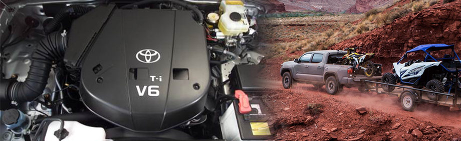 2018 Toyota Tacoma truck powerful engine 7,700lb towing Mountain States Toyota, Denver, Aurora, CO