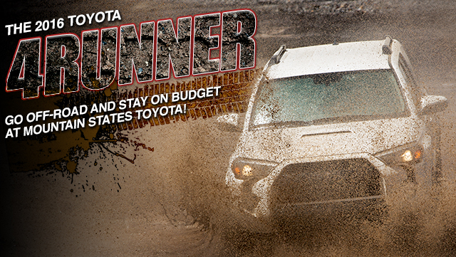 the best deal on Toyota 4runner Low Price Pickup Truck Mountain States Toyota Denver Colorado