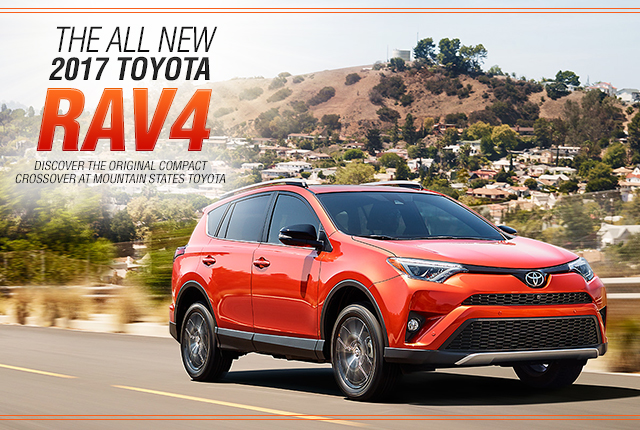 2016 Toyota Rav4 Features Mountain States Toyota Denver Colorado