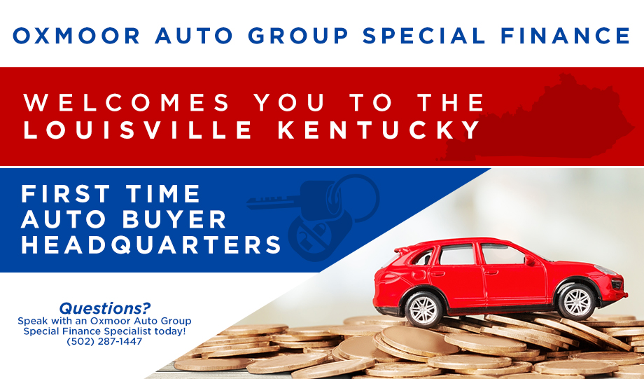 Louisville KY Special Finance First Time Car Buyer