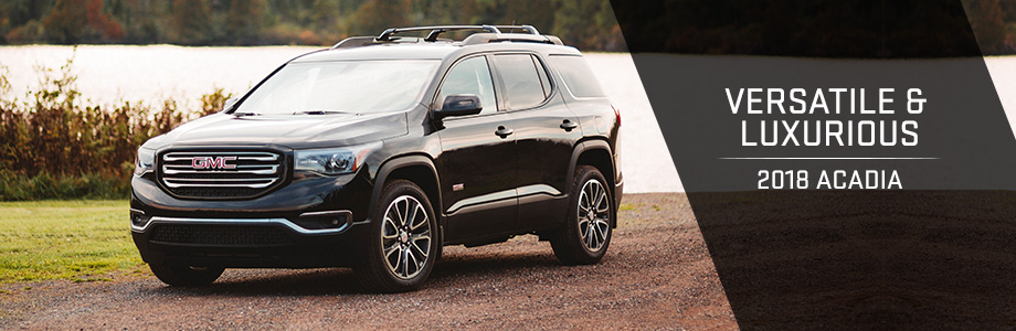 The 2018 GMC Acadia is available at Rivertown Buick GMC in Columbus, GA