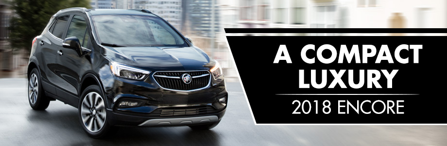 The 2018 Buick Encore is available at Rivertown Buick GMC in Columbus, GA