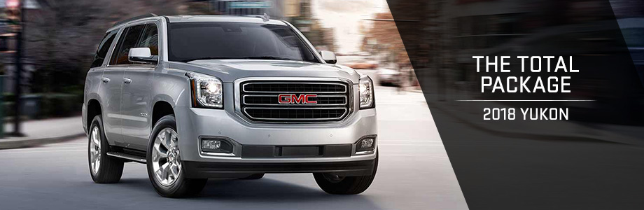 The 2018 Yukon is available at Rivertown Buick GMC in Columbus, GA
