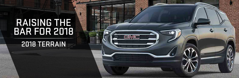 The 2018 Terrain is available at Rivertown Buick GMC in Columbus, GA