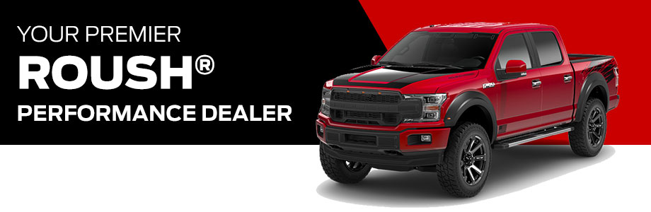 Roush Performance Parts are available at Rivertown Ford in Columbus, GA