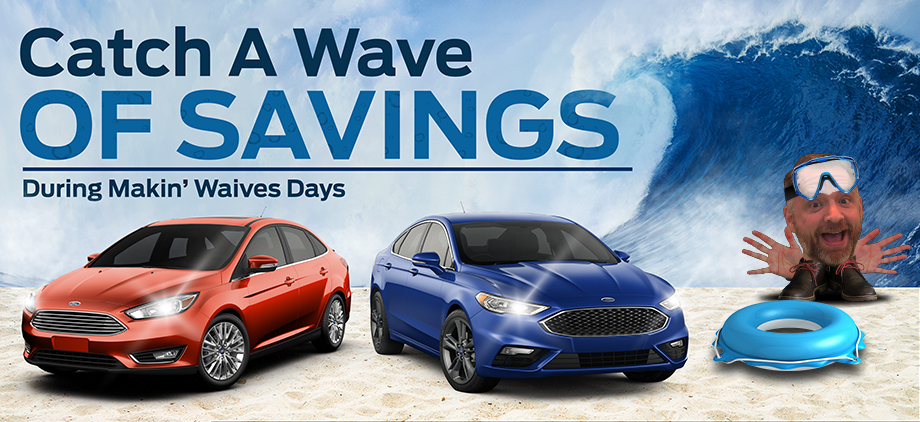 Catch A Wave Of Savings