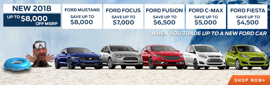 Up to $8,000 Off MSRP on Select New Ford Models