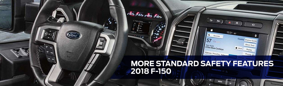 Safety Features and Interior of the 2018 F-150 - available at Rivertown Ford in Columbus near Fort Benning, GA