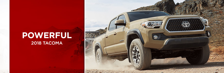 The 2018 Toyota Tacoma is available at Rivertown Toyota in Columbus, GA