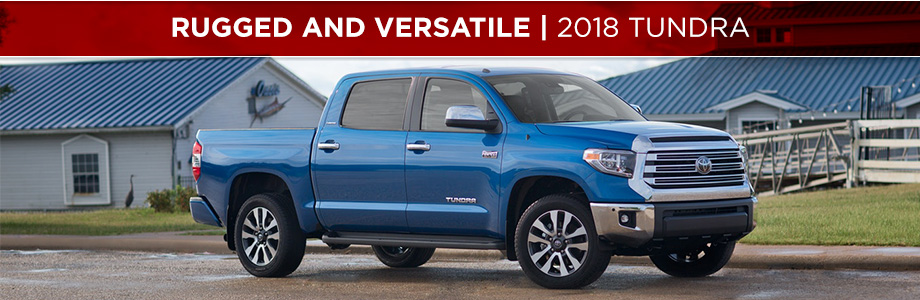 The 2018 Toyota Tundra is available at Rivertown Toyota in Columbus, GA