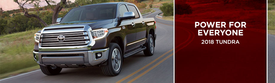 Exterior of the 2018 Toyota Tundra at Rivertown Toyota near LaGrange, GA