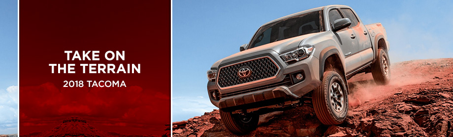 Exterior of the 2018 Tacoma from Rivertown Toyota near LaGrange, GA