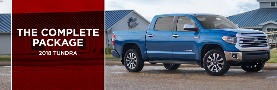 The 2018 Tundra is available from Rivertown Toyota in Columbus, GA