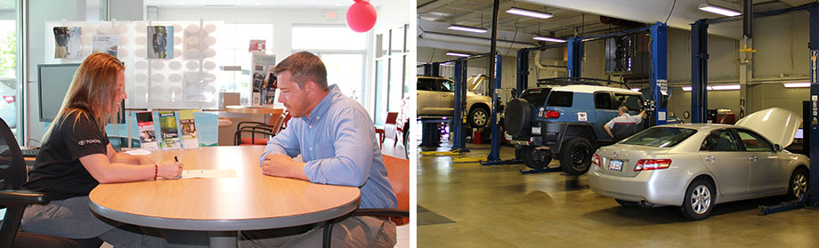 Rivertown Toyota offers auto repair, oil change service, and car lease to Columbus, GA drivers.