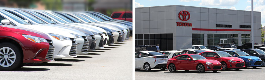 New & used cars are available at Rivertown Toyota in Columbus, GA