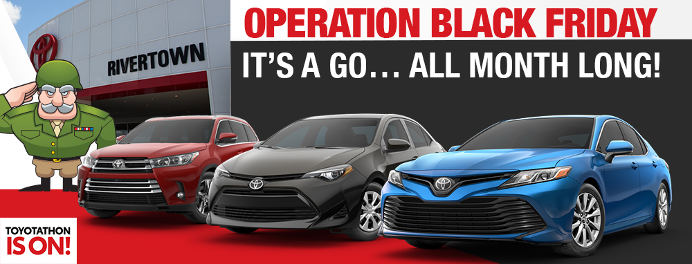 Operation Black Friday It's A Go...All Month Long!
