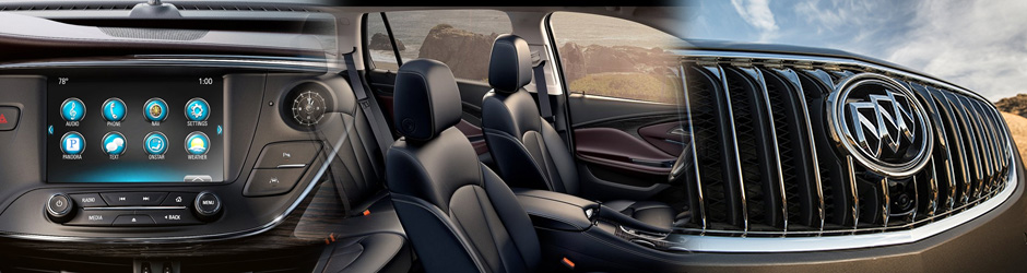 Smart technology, luxurious comfort, elegantly designed, 2017 Buick Envision