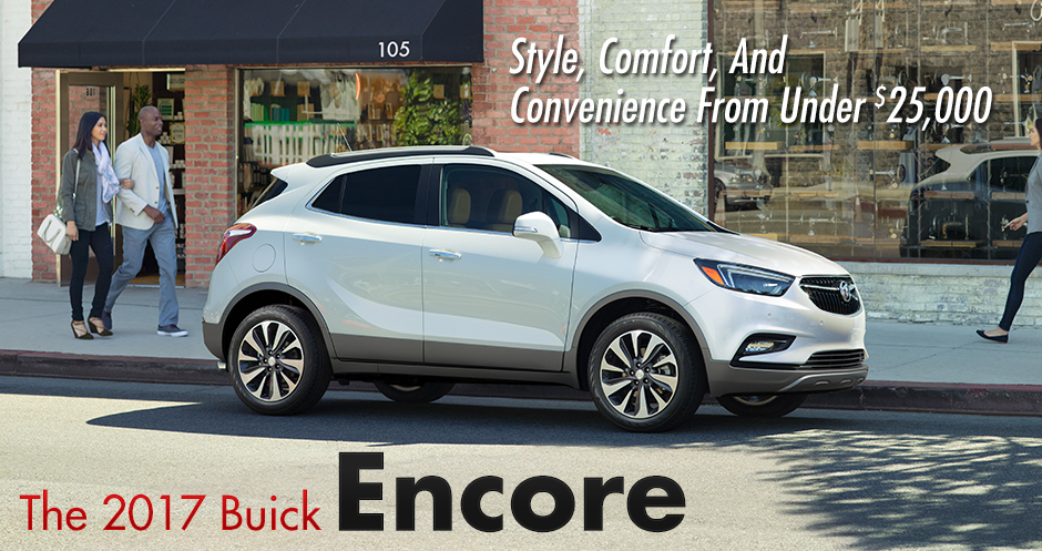 2017 Buick Encore, Compact SUV, Southern Buick GMC Lynnhaven, Virginia Beach