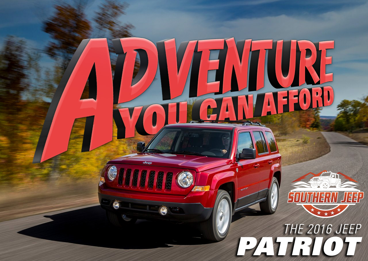 Affordable 2016 Jeep Patriot, Jeep HQ, Southern Chrysler Jeep Greenbrier, Chesapeake, VA