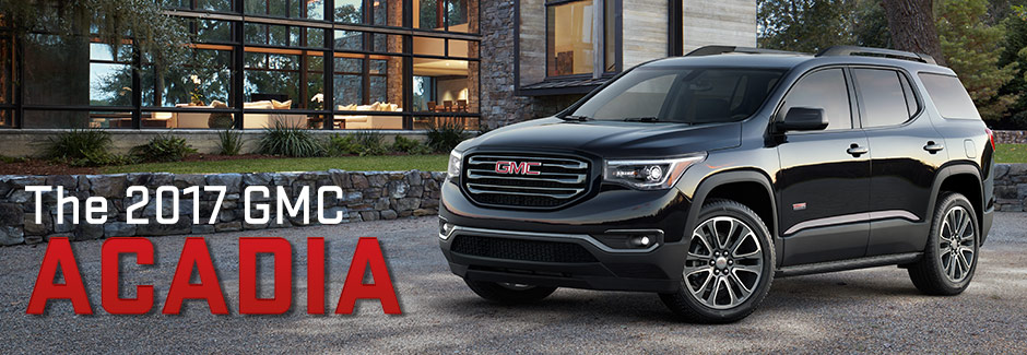 Compare The 2017 GMC Acadia To The Competition At Southern GMC - Greenbrier |Chesapeake, VA