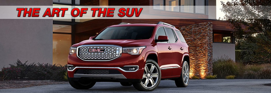 all new redesigned exterior suv crossover 2017 acadia southern gmc greenbrier chesapeake virginia