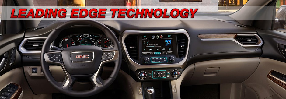 advanced technology state of the art touchscreen rearview camera 2017 acadia southern gmc greenbrier chesapeake virginia