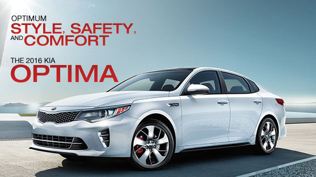 Optimum Style, Safety, And Comfort The 2016 Kia Optima