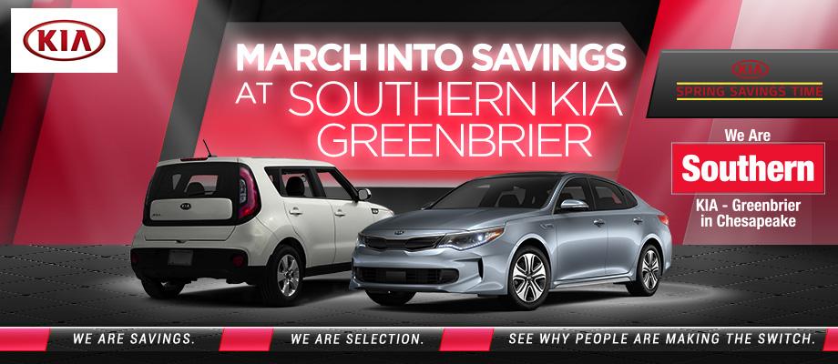 Southern Greenbrier Kia New Kia Dealership In Chesapeake VA - Car show chesapeake va