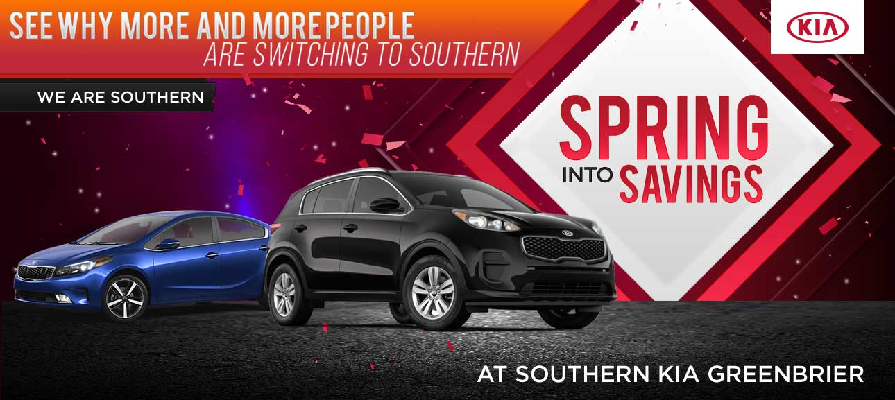 April Special Offers   Southern Kia Greenbrier
