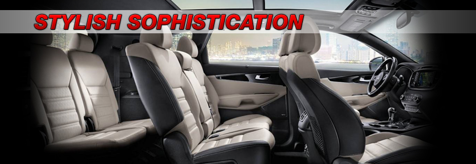 2017 Kia Sorento sophiscticated interior cabin at Southern Kia Lynnhaven in Virginia Beach, VA